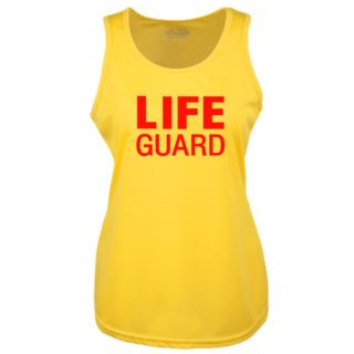 LADIES LIFE GUARD YELLOW COOLTEX VEST